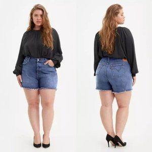 NEW Levi's 501 Original High Rise Denim Shorts